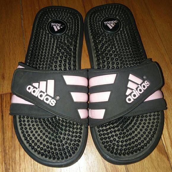 adidas shoes light pink slides poshmark